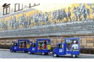 Передвижные киоски в Дрездене
