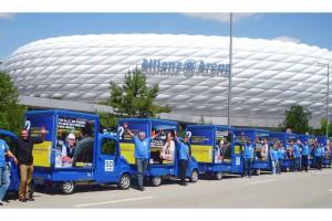 Торговое оборудование для выездной торговли в Мюнхене