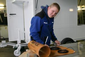 Андреас Кремер почетное второе место в изготовлении торговых павильонов