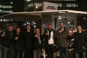 Команда BOFROST встречает новое мобильное кафе