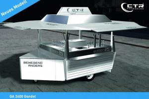 Новая модель Gondel торгового фургона