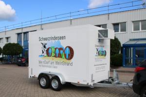 Установка изотермических фургонов
