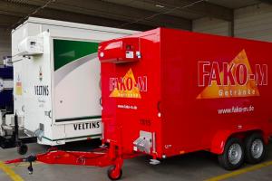 Фургон-рефрижератор для фирмы Fako-M GmbH