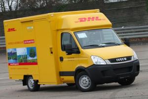 Новый фургон для продажи мороженого